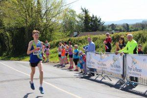 Cian McDonald win sthe Junior Mile